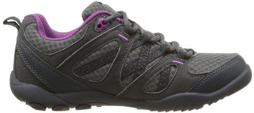 Hi-Tec Premilla Life Wo'S, Chaussures de randonnée tige basse femme Gris (Charcoal/Purple)
