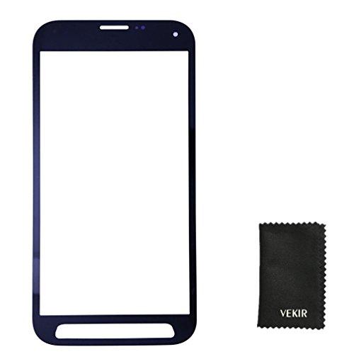 Außen Glasobjektiv Screen Ersatz Kompatibel mit Samsung Galaxy S5 Sport G860P (blau) VEKIR Einzelhandel Pacakging (S5-bildschirm-ersatz Blau)