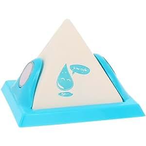 Promobo -Déshumidificateur Forme Pyramide absorbeur d'humidité Fun Bleu