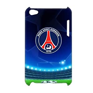 Paris Saint Germain--UEFA The Champions League Popular Football Club Awesome Logo Durable Case Cover For iPod Touch 4th By Ture Love Online