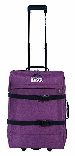 Outdoor-Ausrüstung Jacquard Koffer Handgepäck - Hellblau Lila