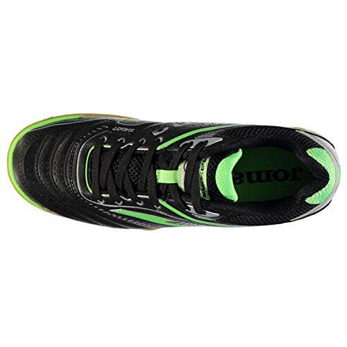 Joma , Chaussures de foot pour homme Black/Green/Smu