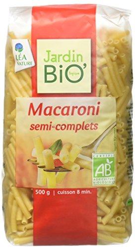 Jardin Bio Macaroni Semi-Complets 500 g - Lot de 6