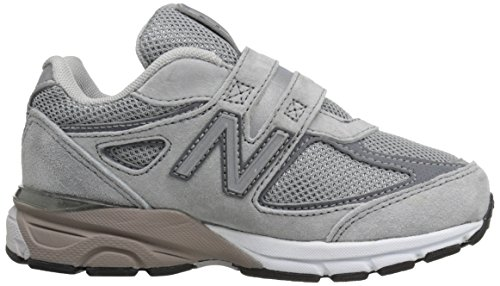 New Balance KV990V4 Pre Running Shoe (Little Kid) Grey/Grey