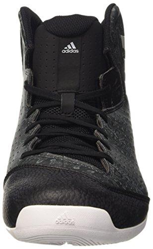 adidas Nxt Lvl Spd Iv, espadrilles de basket-ball homme Noir - Negro (Negbas / Grpulg / Ftwbla)