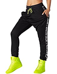 Zumba Fitness When the Sun Goes Down Mesh Jogger pour femme Bottoms