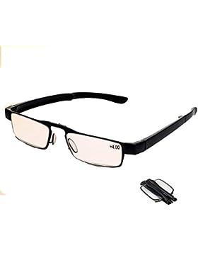 Nuevo ligero y compacto tamaño Unisex Hombres Mujeres no Cansancio negro Full Frame plegable plegable práctico...