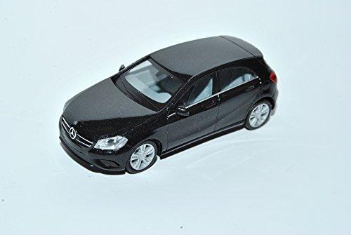 Mercedes-Benz A-Klasse 5 Türer Schwarz W176 Ab 2012 H0 1/87 Herpa Modell Auto mit individiuellem Wunschkennzeichen