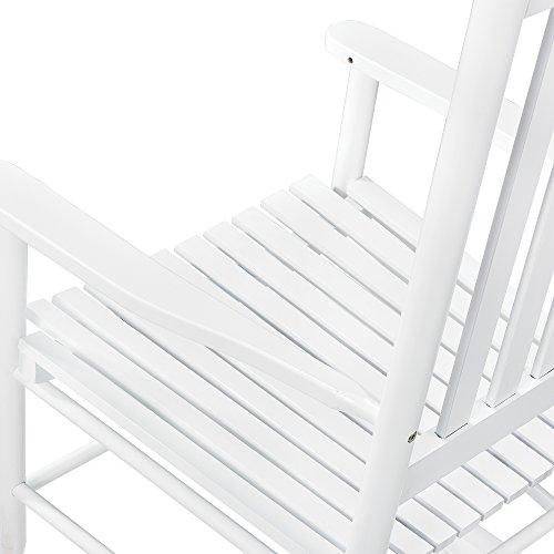 Stillstuhl Weiß Little Devils aus Massivholz - 5