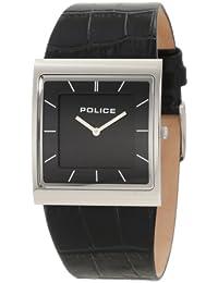 Police SKYLINE PL10849MS/02 - Reloj analógico de mujer de cuarzo con correa de piel negra