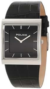 Police - SKYLINE PL10849MS/02 - Montre Femme - Quartz - Analogique - Bracelet Cuir Noir