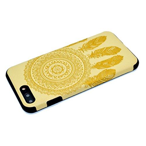 """inShang Hülle für iPhone 6 Plus iPhone 6S Plus 5.5"""" , Ultra Schlank und leicht TPU Bequem Schutzhülle Rückcover (Back Case) design für Handy iPhone 6+ iPhone 6S+ 5.5 inch, Yellow chimes"""