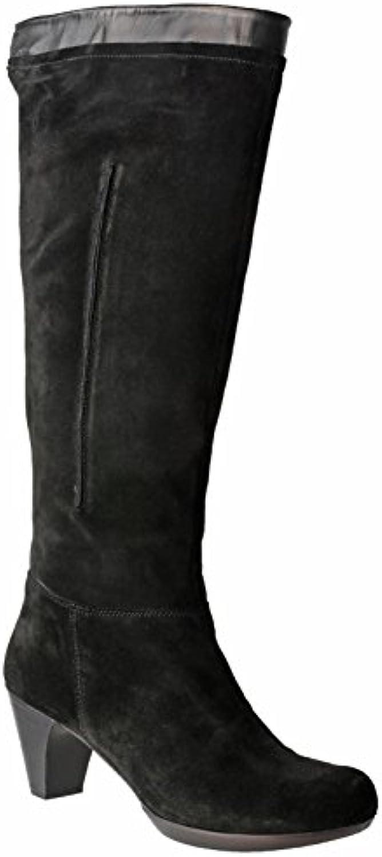 Riva Toucan Suede Mesdames supérieure longue jambe jambe jambe Zip Boot élégant aa2247