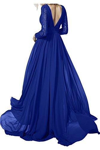 TOSKANA BRAUT -  Vestito  - linea ad a - Donna blu navy
