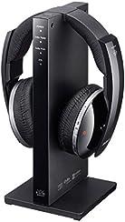 Sony MDR-DS6500 Cuffie Wireless Radiofrequenza, AC, Trasmissione Digitale, Surround Virtuale 7.1, Nero