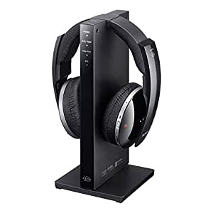 Sony MDR-DS6500 Cuffie Wireless Radiofrequenza, AC, Trasmissione Digitale, Surround Virtuale 7.1, Nero