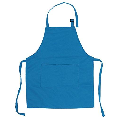 �rzen mit Taschen Küchenschürze Grillschürze Modische Apron für Küche Community Aktivität Party Handwerk Kunst Malerei Sky Blau One Size ()