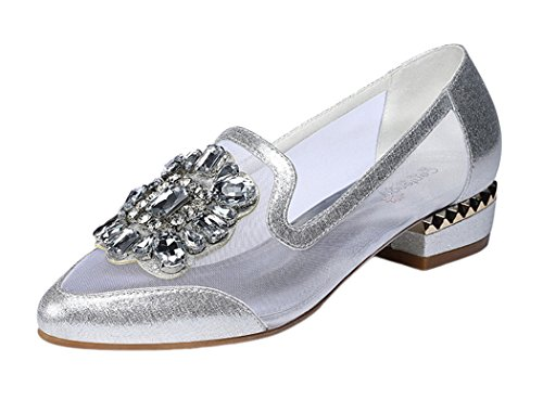 gheaven-women-beauty-breathable-mesh-lacy-crystal-diamond-decorate-sandals-shoes-slip-on-4-uk-silver