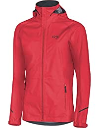 GORE Wear Chaqueta impermeable con capucha de running para mujer, R3 Women GORE-TEX