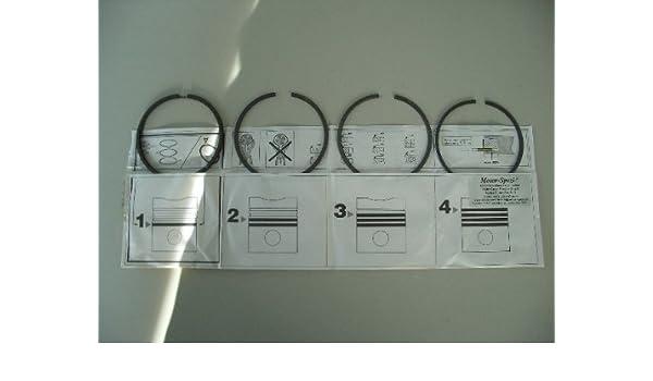ersetzt 3 x OEM 875498 Kolbenringsatz für Volvo Penta MD3B