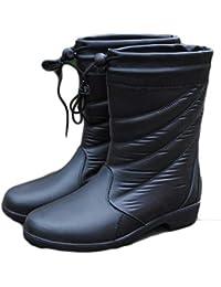 83a38aebac Stivali da pioggia da donna Minimalismo Aggiungi lana Inverno con uomini e  donne in generale Conos
