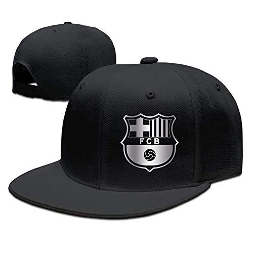 Standard-post-filter (SunRuMo Futbol Club Barcelona FC Platinum Logo Baseball Snapback Hat Black)