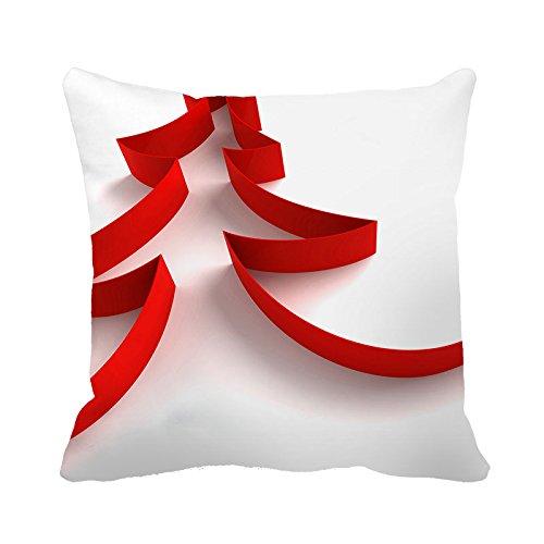 yinggouen-rojo-rayas-rbol-de-decorar-para-un-sof-funda-de-almohada-cojn-45x-45cm