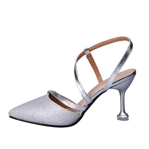 Preisvergleich Produktbild Vectry High Heels Sandalen Plateau Sandalen  Damen Riemchen Sandalen Offene Schuhe Sommer Schuhe SchnüRen 7d7cb5df70
