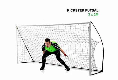 QUICKPLAY Kickster Academy Tragbares 2,4 x 1,5m Fußballtor - 8