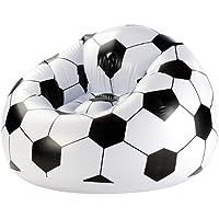 infactory Fanartikel: Aufblasbarer Fußball-Clubsessel im coolen Lounge-Style (Fanartikel Fußball)
