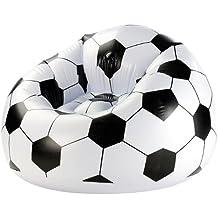 Infactory - Sillón hinchable, diseño de balón de fútbol