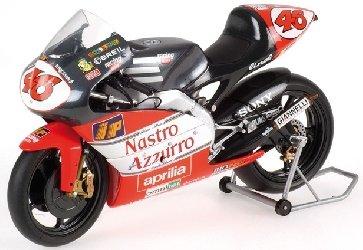 Valentino Rossi Aprilia 125ccm GP 1996 1:12 Minichamps