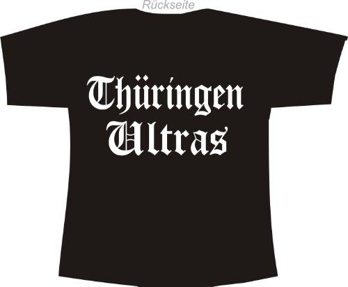 Thüringen Ultras; Städte Polo T-Shirt schwarz