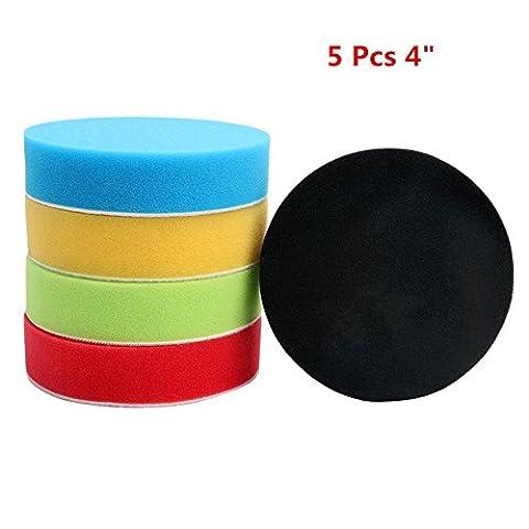 Happyit Flat Eponge Buffing Pad Polishing Pad Kit Polisseuse de