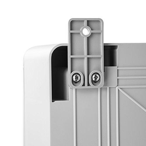 Schaltschrank 30 x 40 x 22 cm verzinkt Montageplatte ABS Kunststoff IP65 300 x 400 x 220 mm - 8