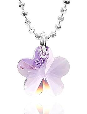 butterfly Mädchen Silberkette St