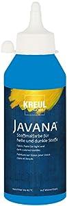 Javana 91456 - Textil Pintura de Tela Opaca, Botella de 250 ML, Azul