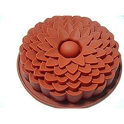 MKNzone 1 Moldes de Silicona DIY, Tartas, Chocolate - Margaritas Clásicas, Entrega de Color Aleatorio(24.5 X 20.5 X 1.5 cm)