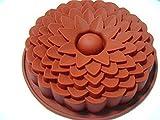 MKNzone 1 Stück 1-Loch 20 X 16 X 2.5 cm Silikon Backform Schokolade, Gelees und Süßigkeiten etc....