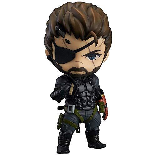 MA SOSER Metal Gear Solid: Der Phantomschmerz: Venom Snake Nendoroid Action Figure (Solid Snake Cosplay Kostüm)