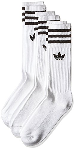 adidas Socks SOLID CREW SOCK, white/black, 39-42, S21489