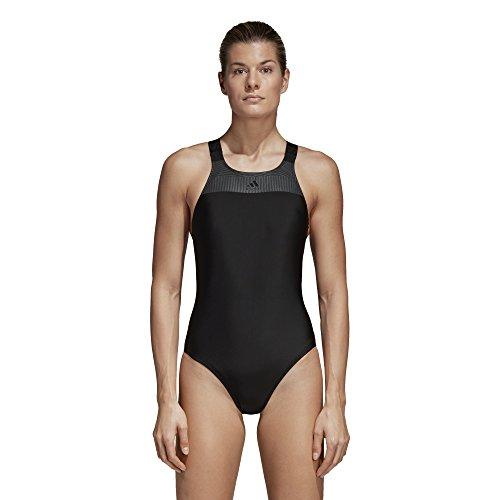 adidas Damen Solid Support Badeanzug black