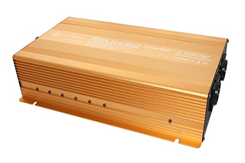 Spannungswandler 12V 2500 5000 Watt reiner SINUS Power USB 2.1A Gold Edition