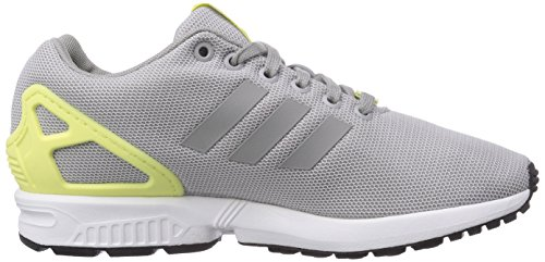 Adidas Zx Flux Sneakers a Collo Basso, Donna Gris-Verde claro