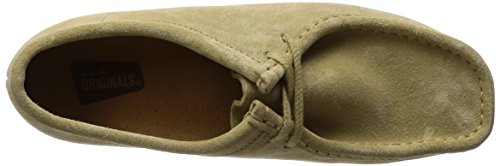 Clarks Originals Wallabee, Brogues Femme Marron (Maple Suede)