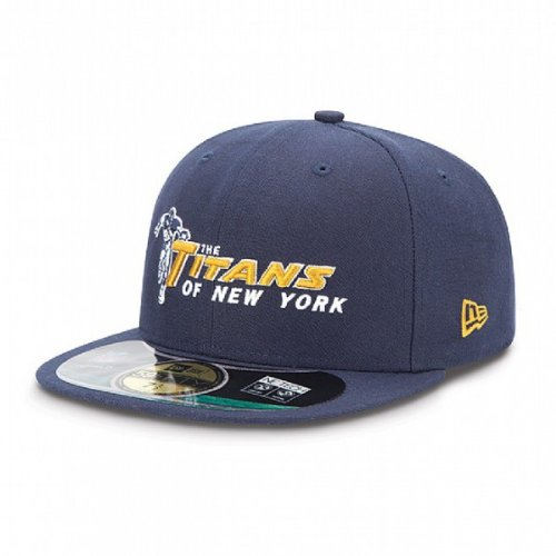 New Era NFL Authentic On Field NEW YORK TITANS 59FIFTY Game Cap (7 3/8) NEU/OVP