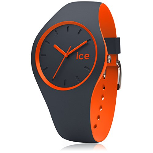 Ice-Watch - ICE duo Ombre orange - Blaue Herrenuhr mit Silikonarmband - 001494 (Medium)