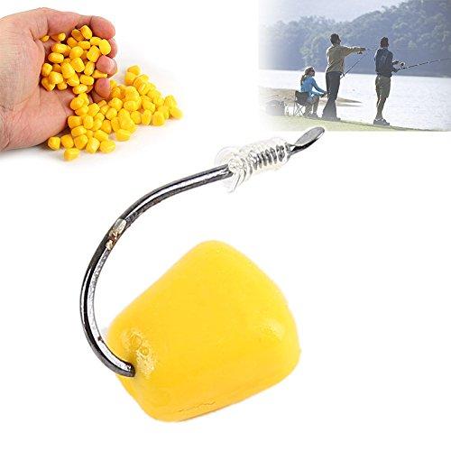100pcs Pop Up Leurres de pêche Maïs artificielle...