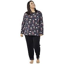 53435a7252 Pijama Manga Larga Varios Modelos. Tallas Grandes. Mabel Big Beauty Tallas  50 a la 70