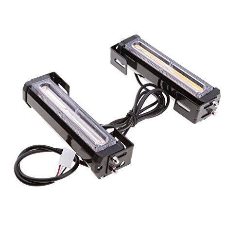 Homyl 1 paar 12V DC Fahrzeuge Grill-Warnlicht Reparatur für Armaturenbretter Außenlampen